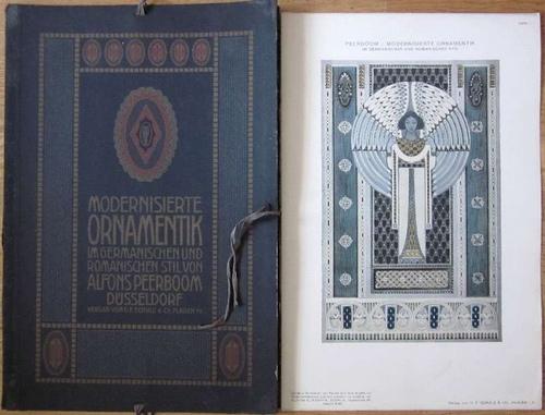 Peerboom, AlfonsModernisierte Ornamentik im germanischen u. romanischen Stil.